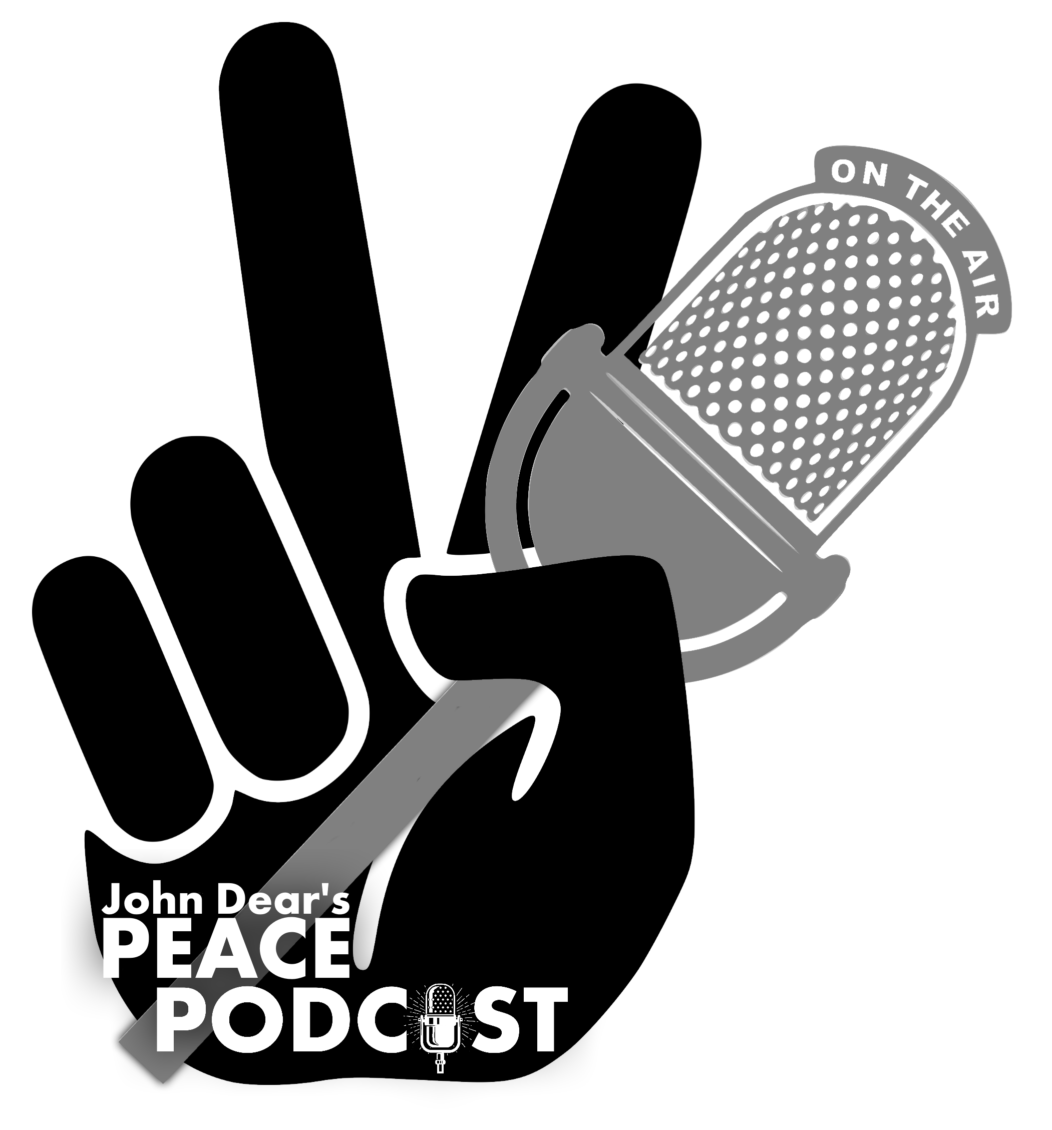 Peace Podcast logo white